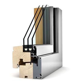 HF 210 - legno-alluminioPAGINA